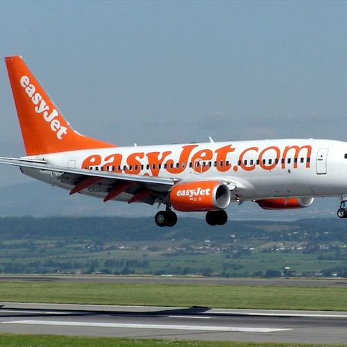 EasyJet interessata all'aeroporto Costa d'Amalfi. Ma serve la pista
