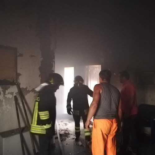 Incendio al Comune di Scala, confermata causa accidentale